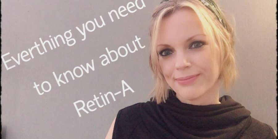 Rachel Sheridan how to use retin-a and before and after images