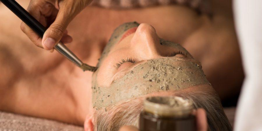 mature skin exfoliation